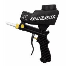 Sandblasting Machine And Manual Portable Gravity Gun Home DIY Pneumatic Set Rust Blasting Device