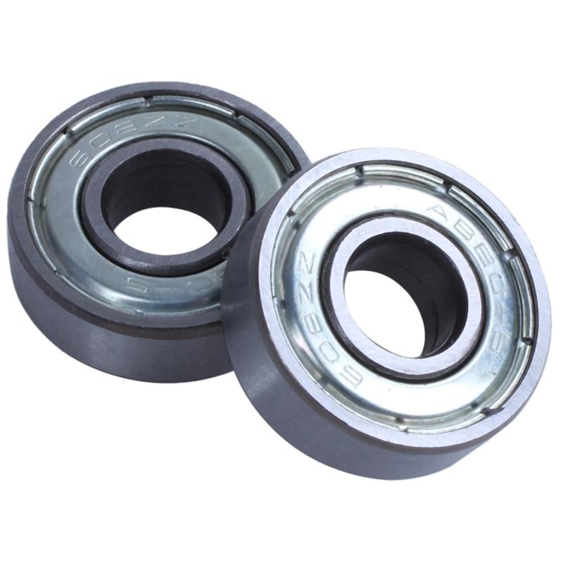 Hot-(pack Of 20) 608 ZZ Skateboard Bearings, Double Shielded,8x22x7 Miniature Ball Bearings