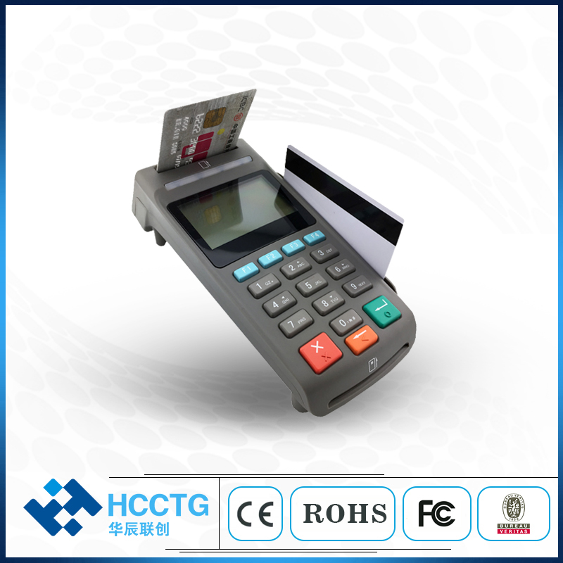 EMV Card Reader 4 In 1 Desktop Security E-payment ATM POS USB Pinpad Security USB E-payment POS Pinpad With LCD Display Z90PD