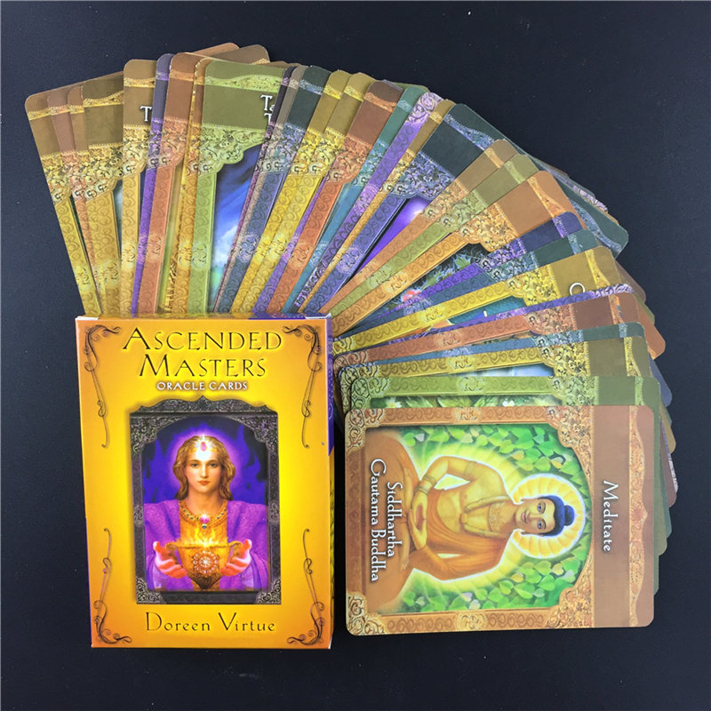 Full English Ascended Masters  Oracle Cards English Version Playing Card Tarot Board Game Card