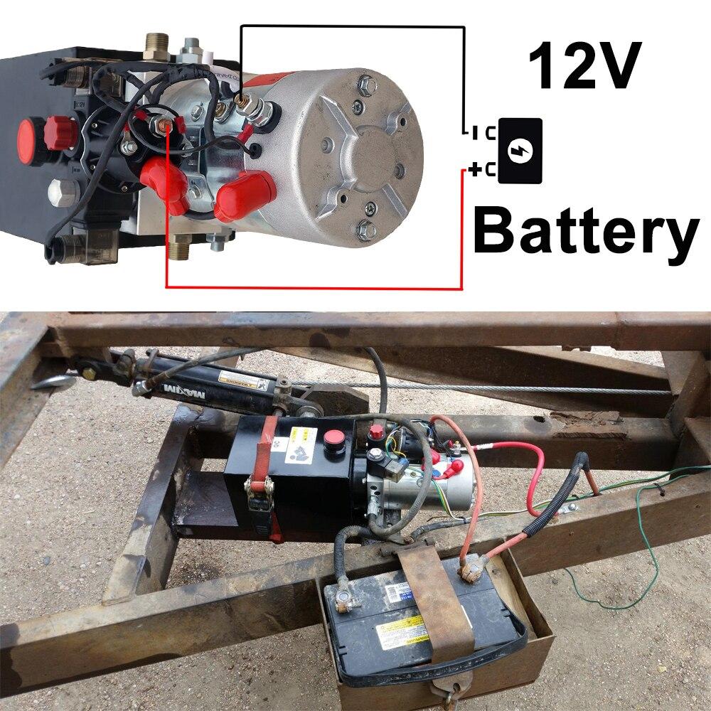6L kahepoolse toimega elektrilise hüdropumba toiteallika komplekt, - Elektrilised tööriistad - Foto 4