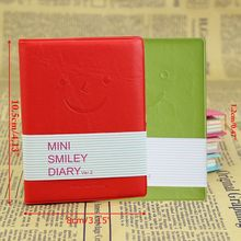 Memo Charming Mini Cute Smile Diary Notebook Portable Smiley Paper Note Book