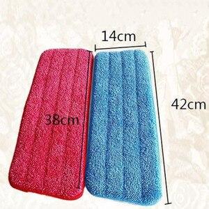 Сменная ткань микрофибра сменная Швабра для уборки пола, паста, тканевая крышка для дома, распыление воды, плоская пыль