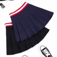 Short-Dress Uniform Tennis-Skirt Badminton-Cheerleader Pleated Girls High-Waist Women