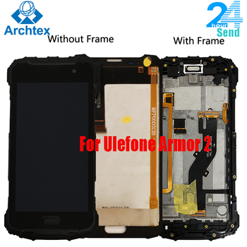 5.0 inch For Ulefone Armor 2 LCD Display and TP Touch Screen Digitizer Assembly For Ulefone Armor 2