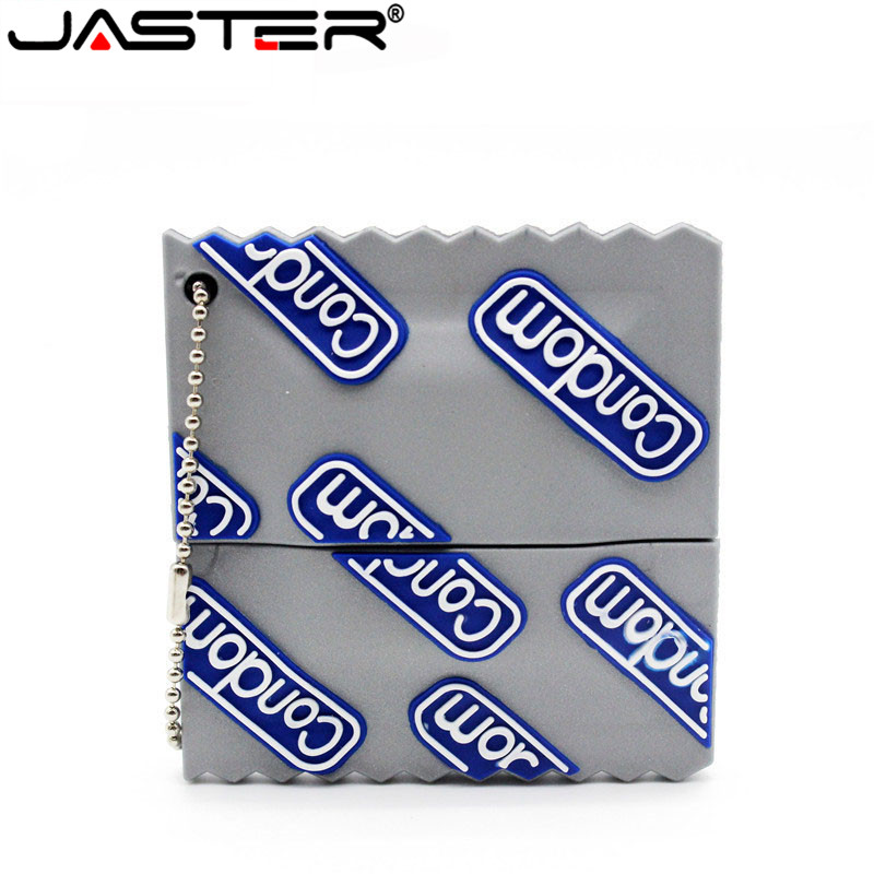 JASTER Pen Drive Cartoon Condom Usb Flash Drive 4GB 8GB 16GB 32GB 64GB Usb Flash Drive Pendrive