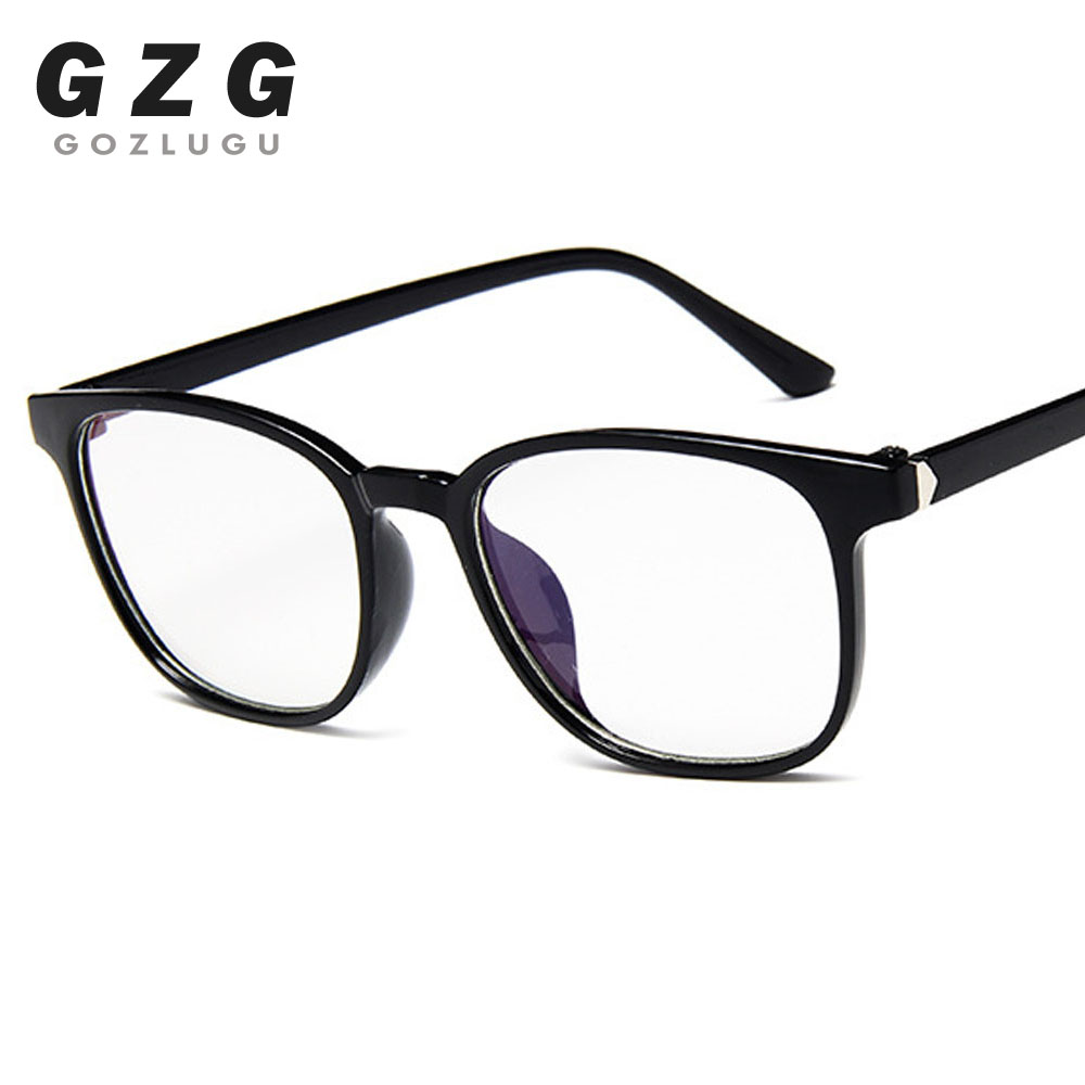 Transparent Glasses Frames Men Women Fake Glasses Vintage Optical Myopia Eyeglasses Frames Ladies Retro Eyewear