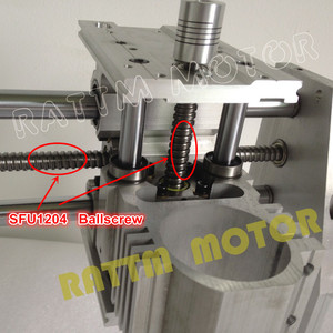 Image 3 - 2020 Sale Wood Lathe Cnc Router Machine New 3040 CNC Router Milling Machine Mechanical Kit Ball Screw with 300w for Dc Spindle