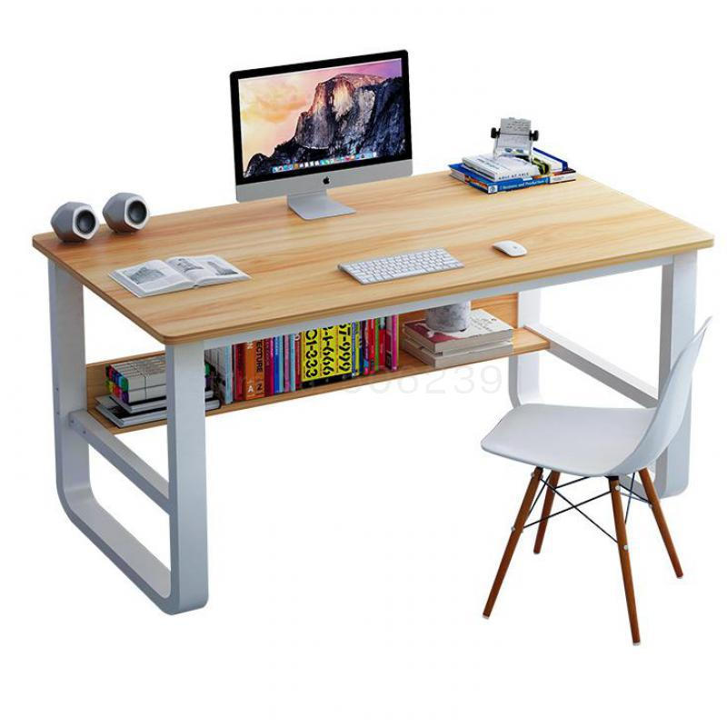 Computer Desktop Desktop Household Simple Imitation Wooden Desk Desk Desk Student Desk Bedroom Simple Small Table
