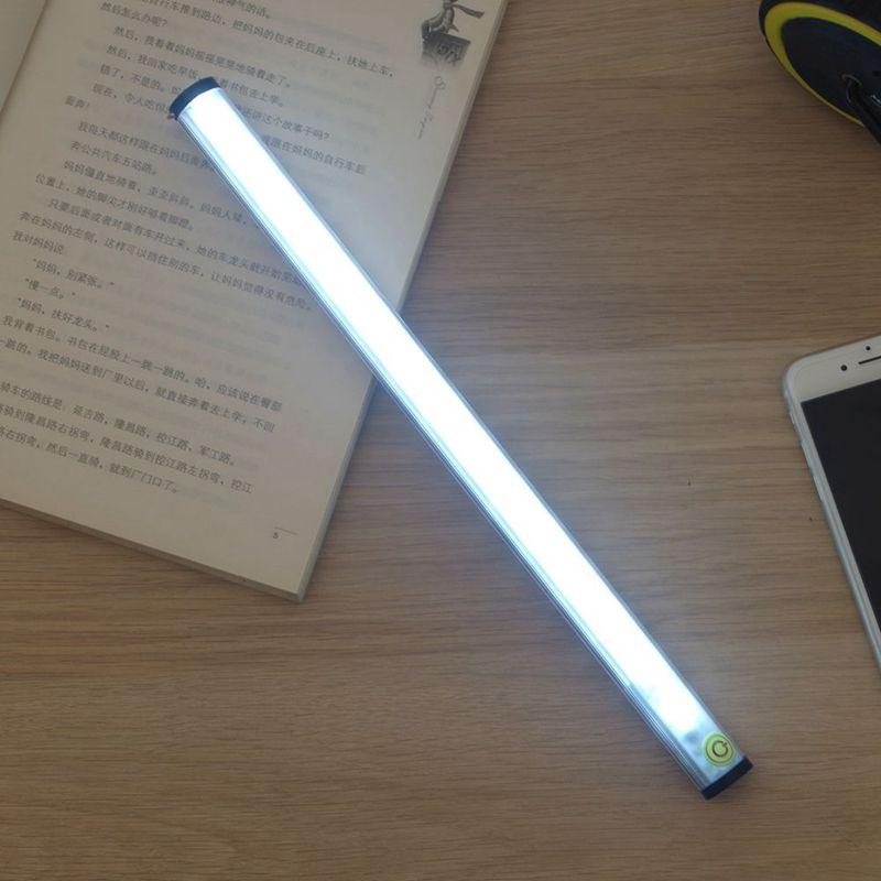 NEW LED Touch Sensor Kitchen Cabinet Light Lamp DC 5V 15LED Wardrobe Closet Showcase Bookshelf White USB Charging Lamp