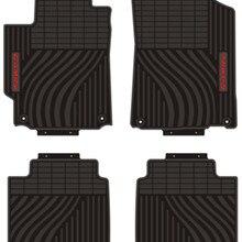 Пользовательские ковры водонепроницаемые передние и задние сиденья полный комплект резиновые коврики для автомобиля для 2006- года Toyota Prius Corrola RAV4 Camry