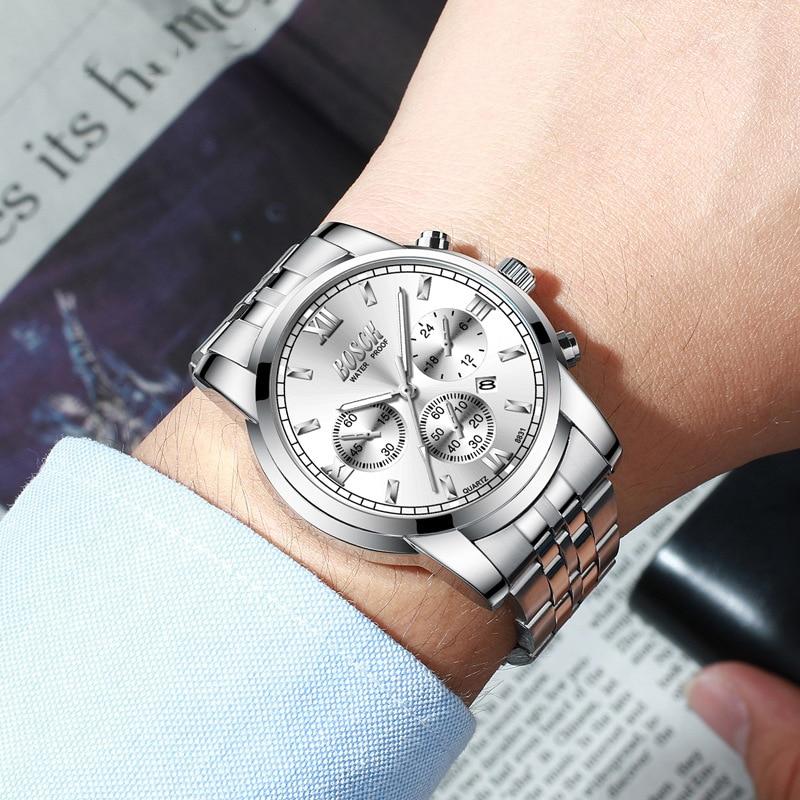 Часы наручные мужские кварцевые в римском стиле брендовые модные