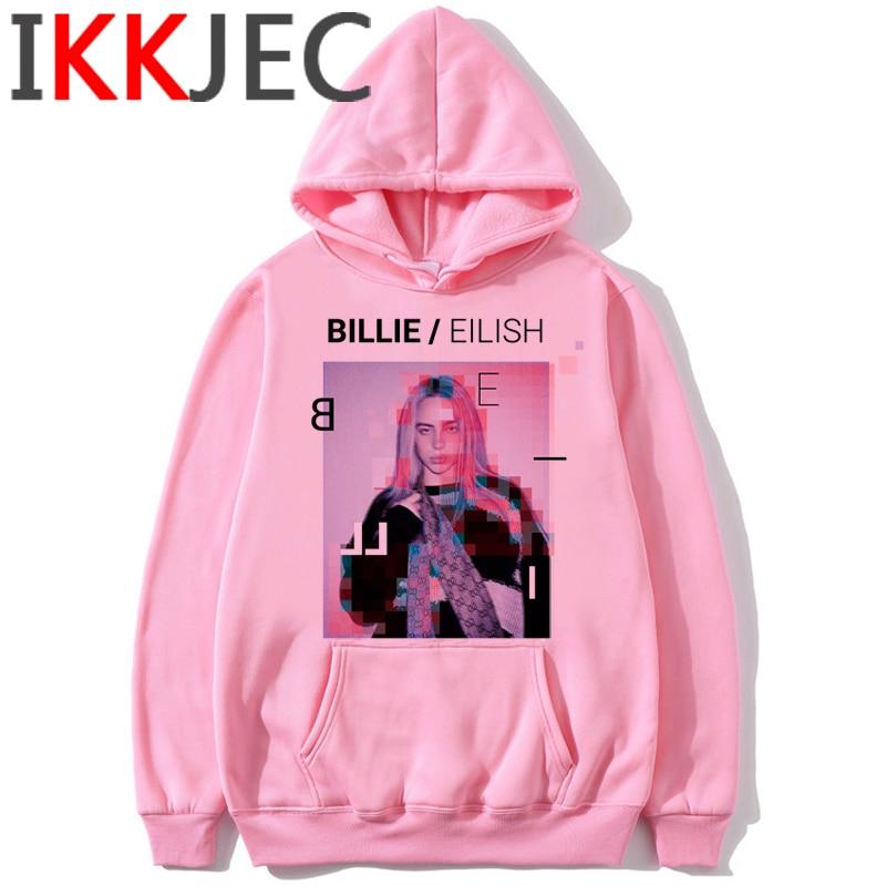 Billie Eilish Bad Guy Funny Cartoon Hoodies Men/women Bury A Friend Warm Hip Hop Sweatshirt Fashion Streetwear Hoody Male/female 1