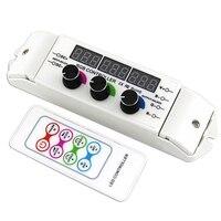 Bc 354 Cv Rgb Led Controller Rf Wireless Remote Control Knob Rotary Switch Rgb Strip Dimmer 18 Modes