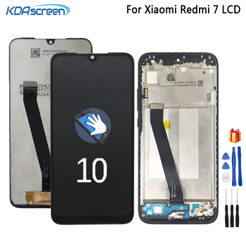 For Xiaomi Redmi 7 LCD Display Touch Screen Digitizer Assembly Phone Parts For Redmi7 lcd Display Snapdragon 632 lcd Screen new 7 for texet tm 7086 lcd display screen 164 100mm tablet pc repairment parts free shipping