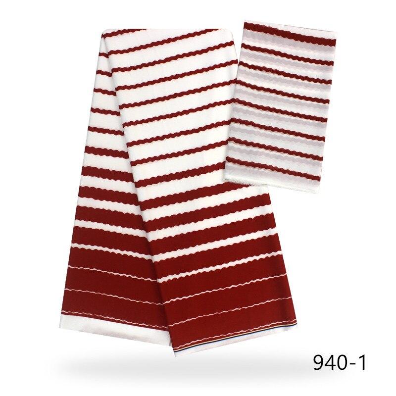 209 new Silk Satin Chiffon Fabric African Ankara Fabric 4+2 Yards/Piece Audel Fabricr Wax African Fabric Batik For Women 942 941