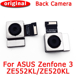 Oryginalna tylna kamera tylna do ASUS Zenfone 3 ZE552KL ZE520KL tylna kamera moduł wymiana kabla Flex naprawa części zamiennych