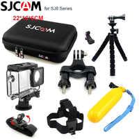 SJCAM SJ8 PRO Accessories Waterproof Housing Case for SJ8 Plus Storage Bag for SJCAM SJ8 Action Camera Tripod Set for SJ8 AIR