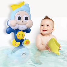Baby Water Game Bath Toy Bathing Tub Whale Shower Faucet Spray Water Swimming Bathroom Bath Toys For Children Kids 1pcs new baby funny water game sunflower baby shower faucet spray water toys for kids