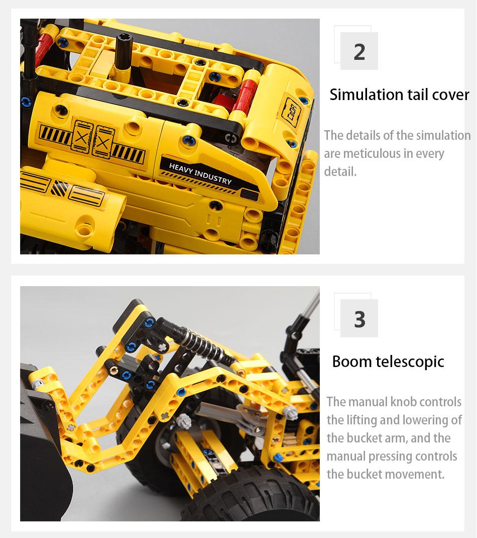 blocos de construção do carro para a