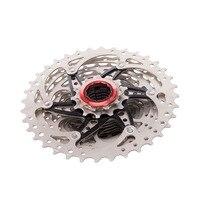 Jazda na rowerze górskim 10 prędkości 11 36T MTB rower kaseta wolnobieg stali nierdzewnej zestawy naprawczy na