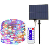 LED Solar Lights Wedding Decoration for Home Fairy Garland Birthday Baby Shower Mariage Anniversaire Christmas Party Decoration