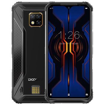 DOOGEE S95 6GB 128GB shockproof Modular Mobile Phone 6.3 Display Octa Core 48MP Triple Camera Android 9.0 Rugged Smartphone starveitu for doogee bl5000 power volume fpc replacment flex cable 5 5 mtk6750t octa core mobile phone
