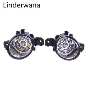 For Nissan X-Trail (T30) 2001-2006 Super bright LED Fog Lights 9W 450LM Fog Lights Assembly 2pcs(China)