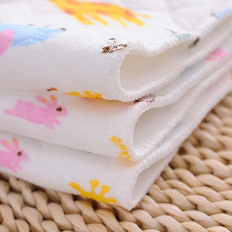 Printed Baby Cloth Diaper Diaper Reusable Cloth Insert Diaper Washable Insert Lining Diaper Pocket Lining