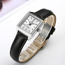 Wwoor повседневные модельные часы для женщин модные квадратные