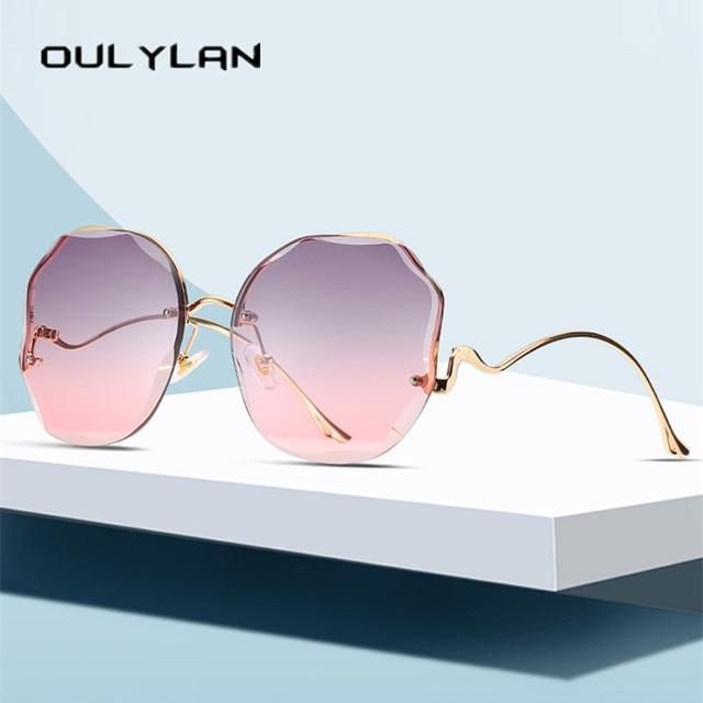 Fashion Tea Gradient Sunglasses UV400 4