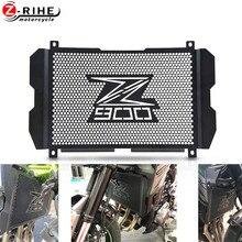 Proteção para radiador de motocicleta, proteção para grade de radiador para kawasaki z900 z 900 900 2017 2018 2019 acessórios 2020