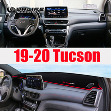 Mat Tucson Dashboard-Cover Hyundai for Avoid-Light Pad Instrument-Panel Carpets-Accessories