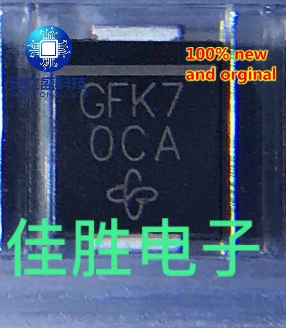 25pcs 100% New And Orginal SM15T36A DO214AB Silk-screen GFK7 TRANSILTM  In Stock