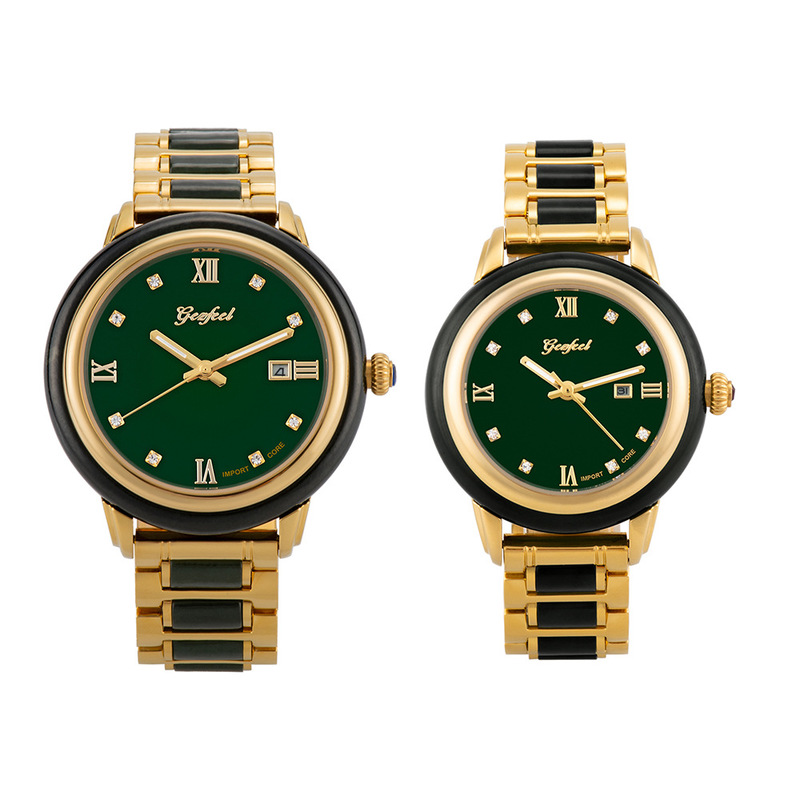 2020 Promotion New Wholesale Hetian Jade Lovers Mechanical Watches Japan Fully Automatic Watch A Undertakes