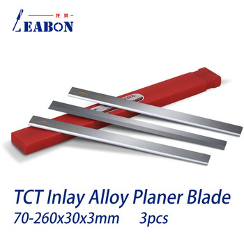 Frez do strugarki nóż do cięcia z węglika wolframu do strugarki do drewna 70mm do 260mm długość 30mm szerokość (3 sztuk partia) tanie i dobre opinie ORUID CN (pochodzenie) A02003006