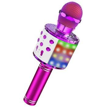 Mikrofon do Karaoke Bluetooth mikrofon bezprzewodowy profesjonalny głośnik ręczny mikrofon odtwarzacz śpiewający mikrofon tanie i dobre opinie Dpower Mikrofon ręczny Mikrofon pojemnościowy Karaoke mikrofon NONE Pojedyncze Mikrofon CN (pochodzenie) Małe wireless