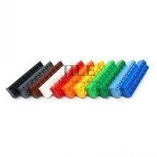 Moc grandes blocos de construção duploed tijolo 2x8 4199 grandes partículas diy criativo compatível com montagens acessórios crianças brinquedos
