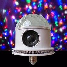 Умный RGB беспроводной Bluetooth светодиодный светильник динамик лампа E27 12 Вт Музыка играющая лампа дистанционное изменение цвета управление приложением