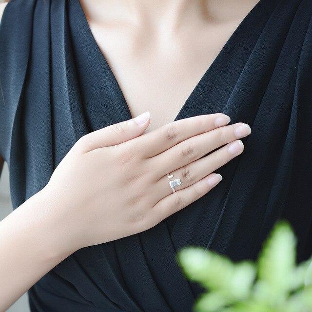 Купить женское кольцо из серебра 925 пробы с открытым пальцем картинки