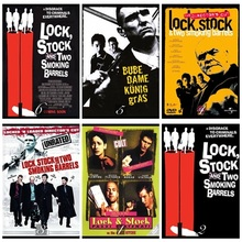 Lock, Stock and Two Smoking Barrels Movie Home Decorative Painting White Kraft Paper Poster 42X30cm