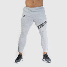 Fashion new Men Gyms Sports Pants Joggers Fitness Casual Long Trousers Men Workout Skinny Sweatpants Jogger Fitness Cotton Pants(China)