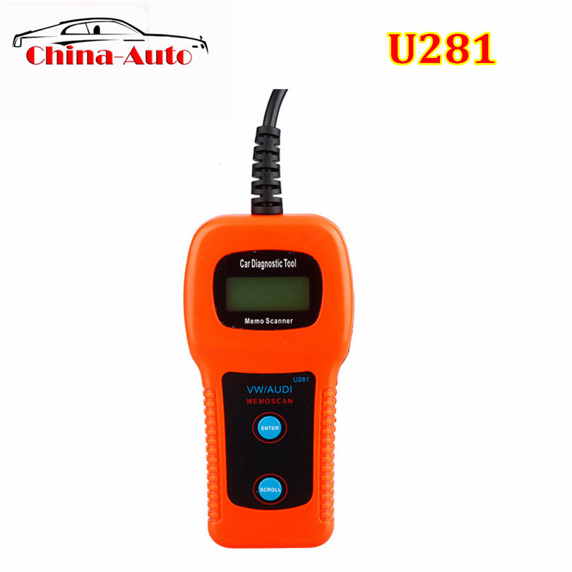 2019 Top-Rated U281 OBD2 CAN BUS Code Scanner OBDII Engine Code Reader Car Diagnostic Scanner Better Than U280 CAR CODE SCANNER