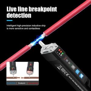 MESTEK Non-contact AC Voltage Detector Tester Meter 12V-1000v Pen Style Electric Indicator LED Outlet Voltage Dectetor Sensor(China)