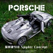 Welly 1:24 Porsche 918 Spyder Concept alloy car model Diecas