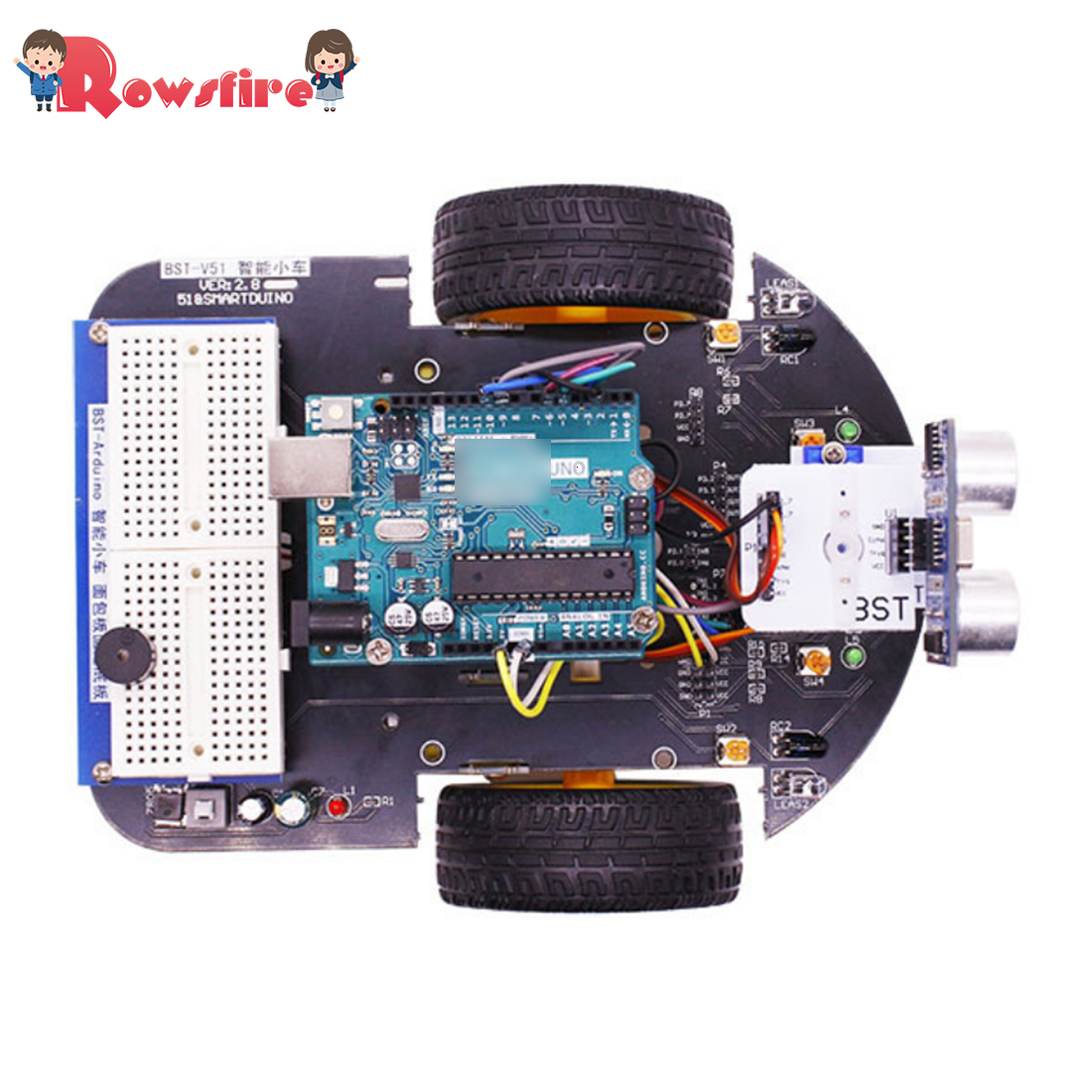 2-In-1 Project Super Starter Kit Smart Robot Car With Tutorial Programme Toys For Arduino With R3 Mainboard Standard Version