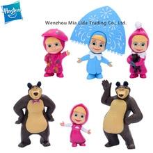 Hasbro MashaBear 6pcs/set Doll Model toys Toy model ornament