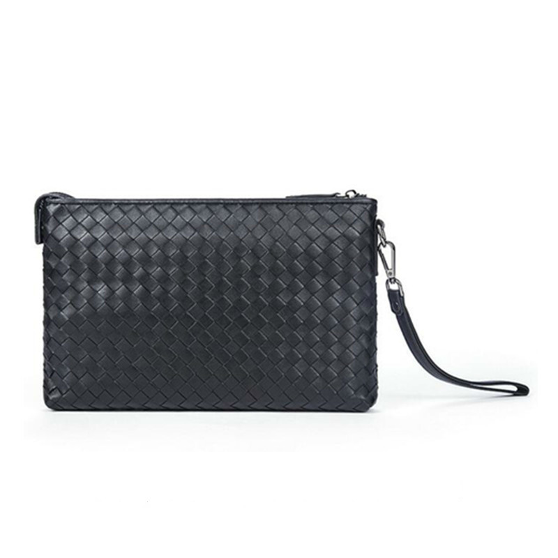 mens wallet luxury top grain cow leather men clutch bag money  Genuine Leather Polyester Classic