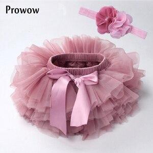 Детская юбка-пачка для маленьких девочек, комплект из 2 предметов: короткая юбка-пачка для новорожденных + повязка на голову, юбка для девоче...