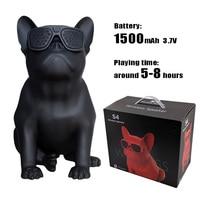 Wireless Bluetooth Speaker Bulldog Speaker Subwoofer USB Computer Speaker Outdoor Powerful Bluetooth Speaker FM Radio